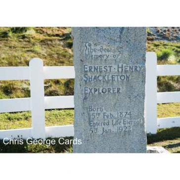 Shackleton grave