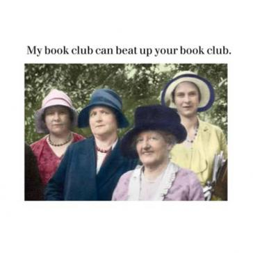 My book club