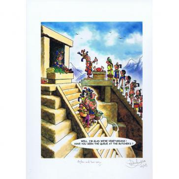Denis Dowland Aztec & Two Veg