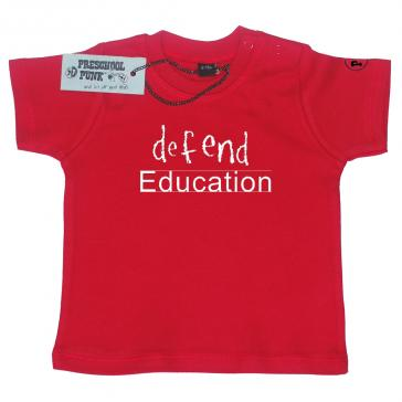 Defend Education Red