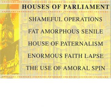 Parliament anagrams