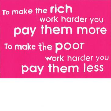 Rich More Poor Less