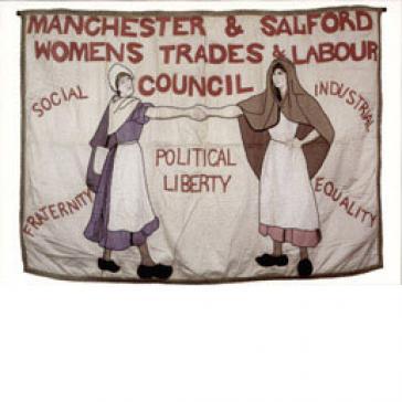 Manchester women's banner