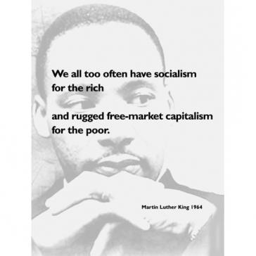 MLK Socialism Capitalism
