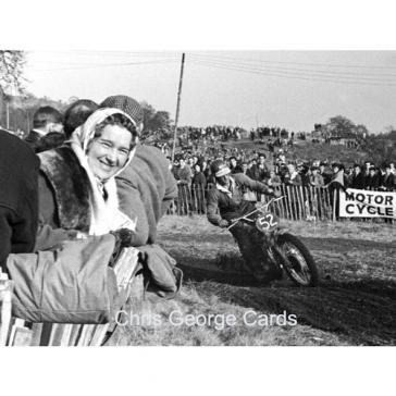 Motocross woman