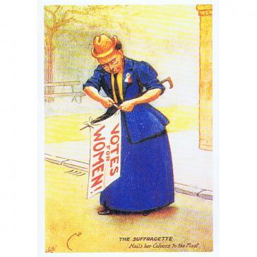 Suffragette card