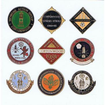 Cortonwood badges card