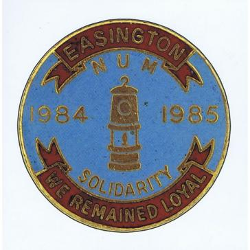 Easington Badge