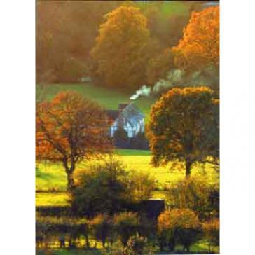 Cottage beneath Brown Clee Hill Shropshire