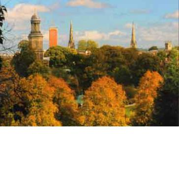 Shrewsbury skyline