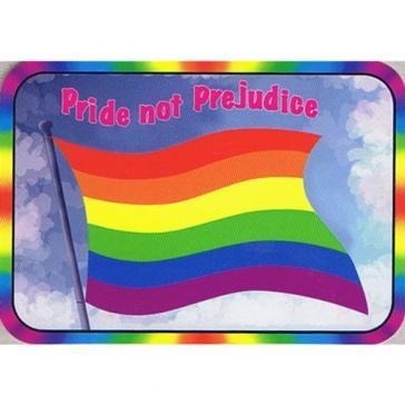 Pride not Prejudice Sticker