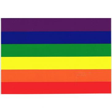 Rainbow flag sticker