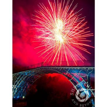 Fireworks Iron Bridge