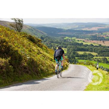 Cycling on Long Mynd