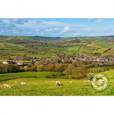 Clun Shropshire