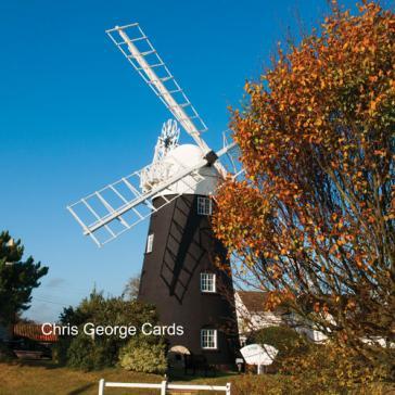 Autumn windmill