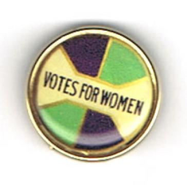 Votes for Women badge