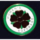 WSPU Clover badge