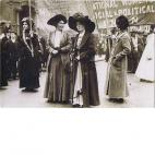 Suffragette demonstration