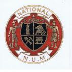 National NUM badge