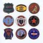 Durham area badges card