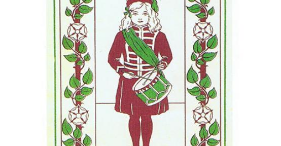 Suffragette christmas card